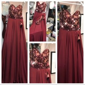 Custom Fernando Wong Couture Pageant/Prom Gown